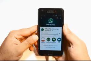 Установка мессенджера WhatsApp на Самсунг